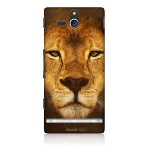 Head Case Designs Big Face Animals Hard Back Case for Sony Xperia U ST25i